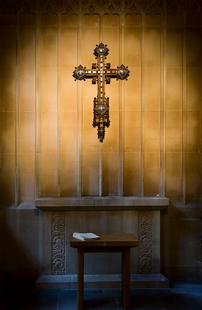 secluded corner chapel bath abbey england