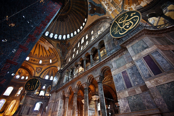hagia sophia stairway to the heavens